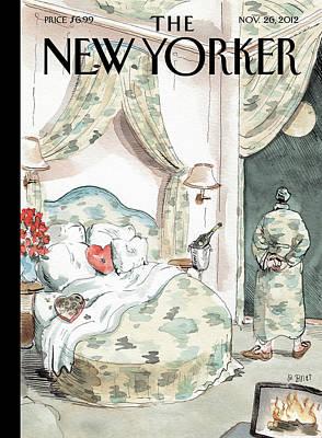 New Yorker November 26th, 2012 Poster by Barry Blitt