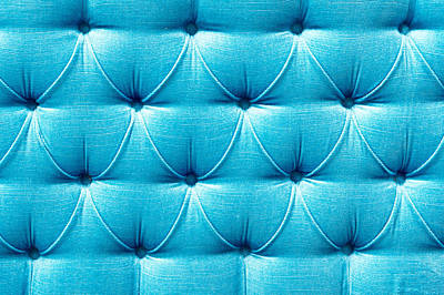 Upholstery Background Poster by Tom Gowanlock