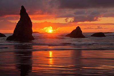 Usa, Oregon, Bandon Beach Poster by Jaynes Gallery
