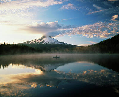 Usa, Oregon, Mount Hood National Poster