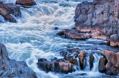 Usa, Virginia, Great Falls Park Poster by Jaynes Gallery