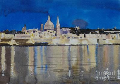 Valletta Malta Poster