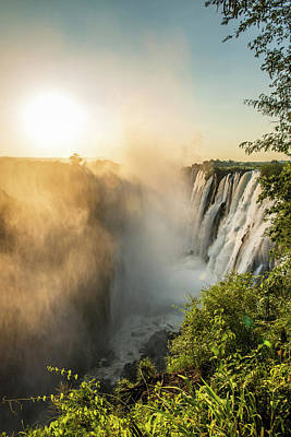 Victoria Falls  Livingstone, Zambia Poster by Remsberg Inc