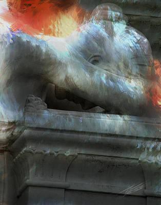 Weeping Angel Poster by Peter Piatt
