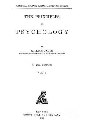 William James (1842-1910) Poster
