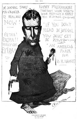 William Randolph Hearst (1863-1951) Poster