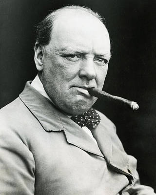 Winston Churchill Poster by Retro Images Archive