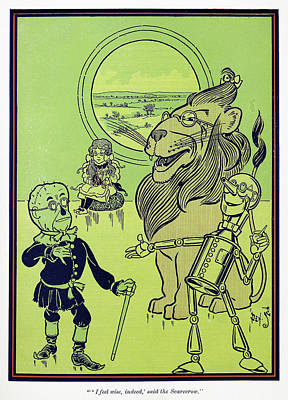 Wizard Of Oz, 1900 Poster
