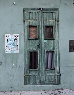 New Orleans Door Poster