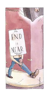New Yorker March 17th, 2003 Poster by Barry Blitt