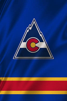 Colorado Rockies Poster by Joe Hamilton