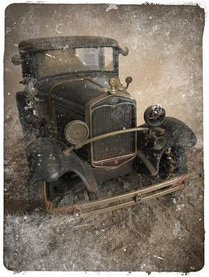 '31 Ford Diecast Truck Model Poster