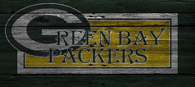 Green Bay Packers Poster by Joe Hamilton
