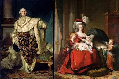 Louis Xvi (1754-1793) Poster by Granger