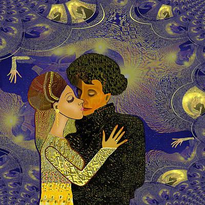 314 - Golden Dancing   Poster