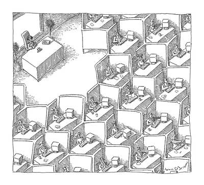 New Yorker November 15th, 2004 Poster by John O'Brien