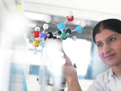 Molecular Model Poster