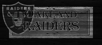 Oakland Raiders Poster by Joe Hamilton