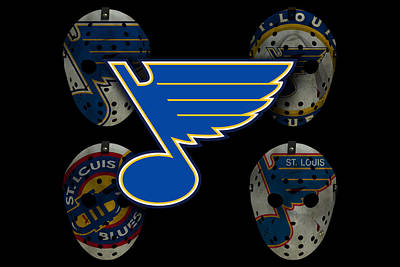 St Louis Blues Poster by Joe Hamilton