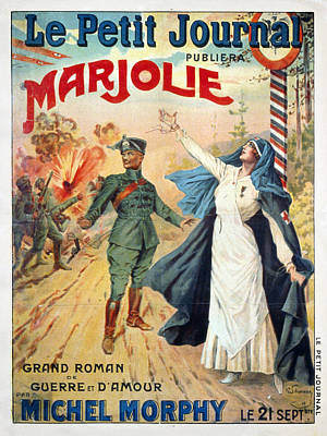 World War I French Poster Poster