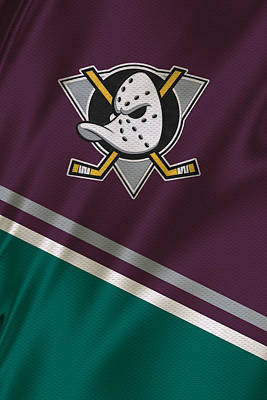 Anaheim Ducks Poster by Joe Hamilton