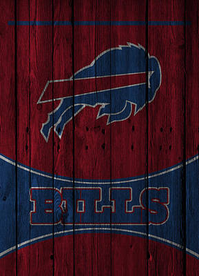 Buffalo Bills Poster by Joe Hamilton