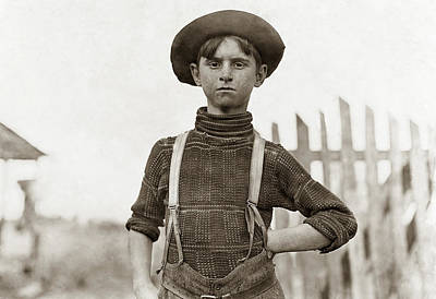 Hine Child Labor, 1908 Poster