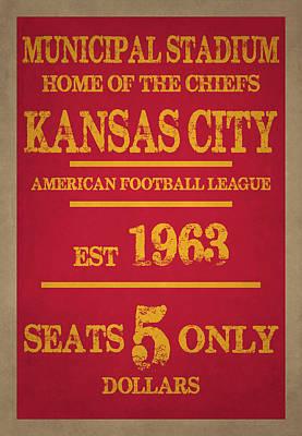 Kansas City Chiefs Poster