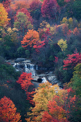 Usa, New York, Adirondack Mountains Poster