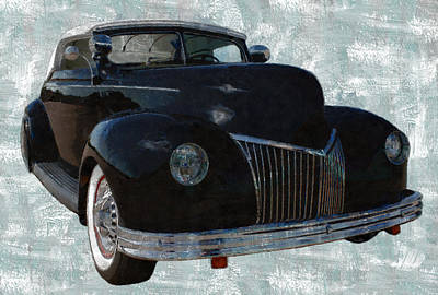 39 Custom Coupe 1 Poster by Ernie Echols