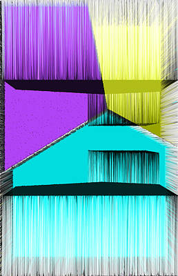 3d Abstract 2 Poster by Angelina Vick