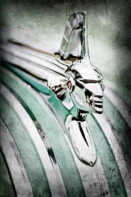 1951 Pontiac Streamliner Hood Ornament Poster by Jill Reger