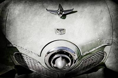 1951 Studebaker Commander Hood Ornament Poster by Jill Reger