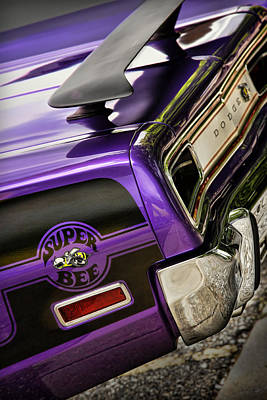 1970 Dodge Coronet Super Bee Poster by Gordon Dean II