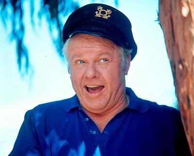 Alan Hale Jr. In Gilligan's Island  Poster