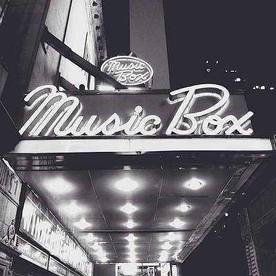 Broadway Poster by Natasha Marco