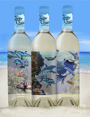 Carey Chen Fine Art Wines Poster