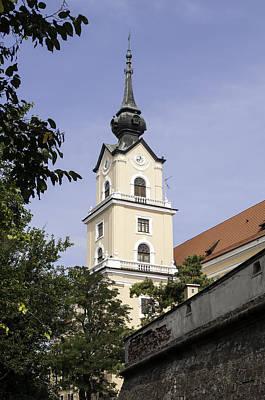 Castle Of Rzeszow. Poster