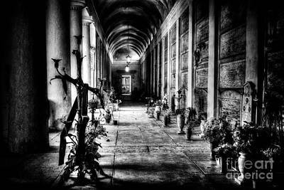 Cemetery Of Verona Poster by Traven Milovich