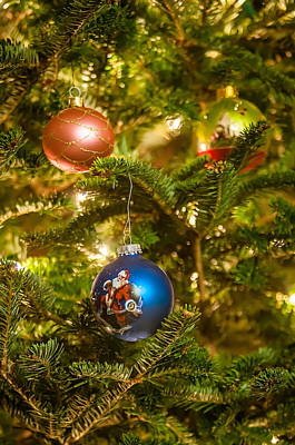 Poster featuring the photograph Christmas Tree Ornaments by Alex Grichenko