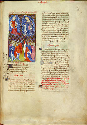 Collected Works Of Christine De Pisan Poster by British Library