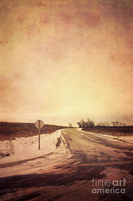 Country Road Poster by Jill Battaglia