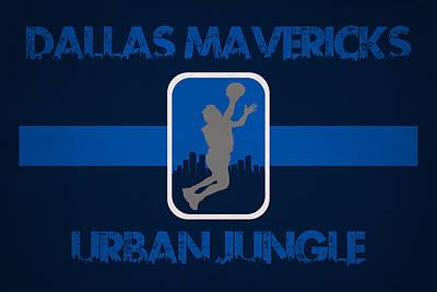 Dallas Mavericks Poster by Joe Hamilton