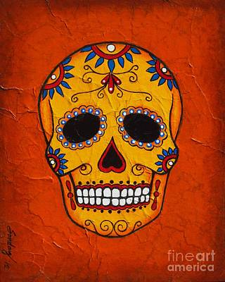 Day Of The Dead Poster by Joseph Sonday