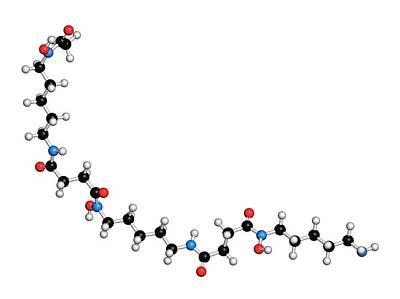 Deferoxamine Drug Molecule Poster by Molekuul