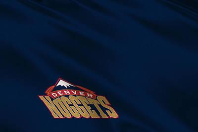 Denver Nuggets Uniform Poster by Joe Hamilton