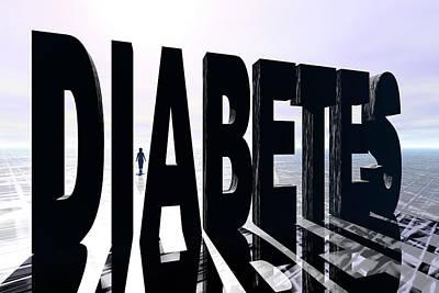 Diabetes Poster by Carol & Mike Werner