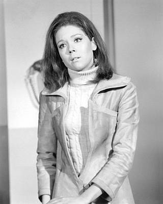 Diana Rigg In The Avengers Poster
