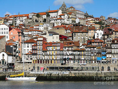 Poster featuring the photograph Douro River by Arlene Carmel