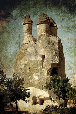 Fairy Chimney In Goreme Poster